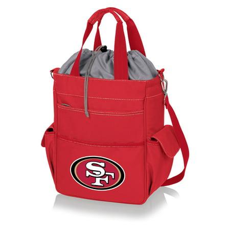 San Francisco 49ers Activo Cooler Tote - Scarlet - No (Scarlet Ice)
