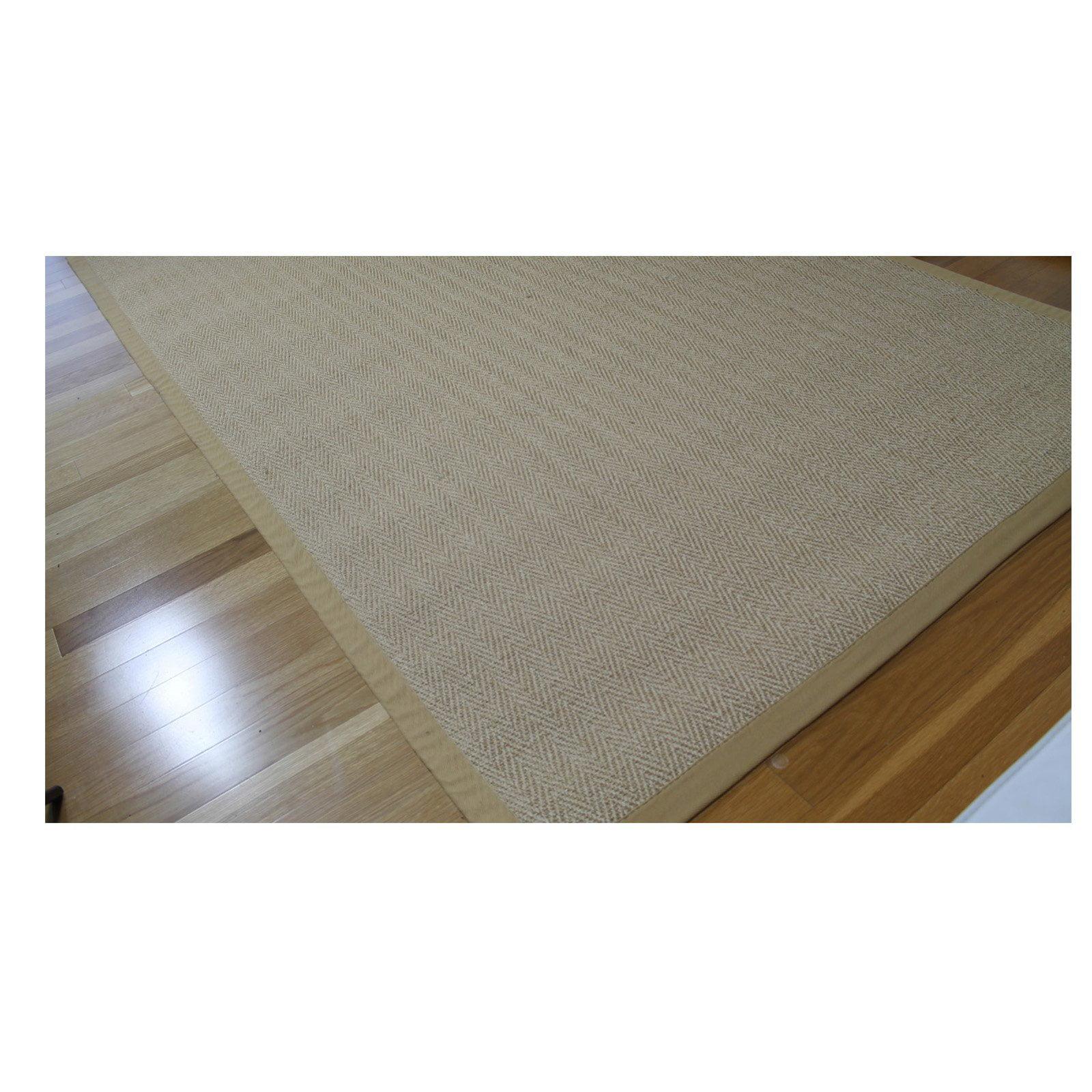 Walmart Foyer Rug : A hc sisal rug natural fiber area non skid latex