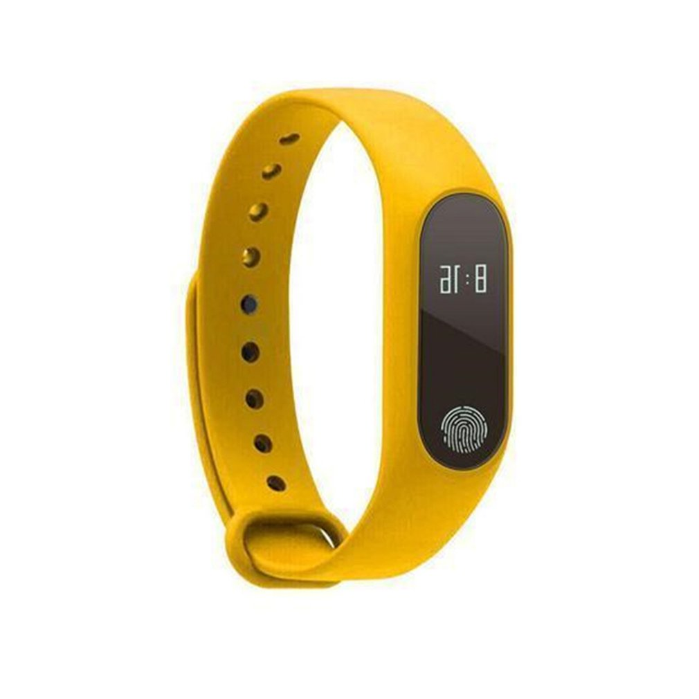 Pedometer & Activity Tracker M2 Smart Bracelet Waterproof IP67 Rating, Heart Rate Monitor, Step & Calorie Counter