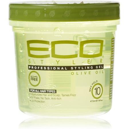 Eco Style Olive Oil Styling Gel, (Gel Styler)