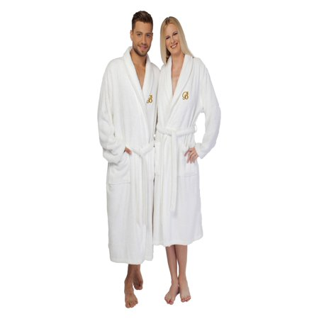 Linum Home Textiles - Linum Home 100% Turkish Cotton Unisex Terry Cloth  Bathrobe - Walmart.com a05f76fb9