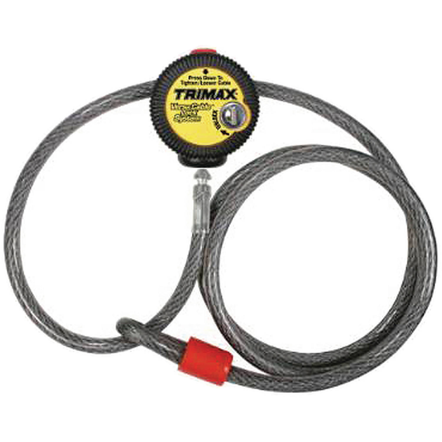 Trimax VMAX6 6' x 10mm Multi-Use Versatile Cable Lock 6' x 10mm by Trimax