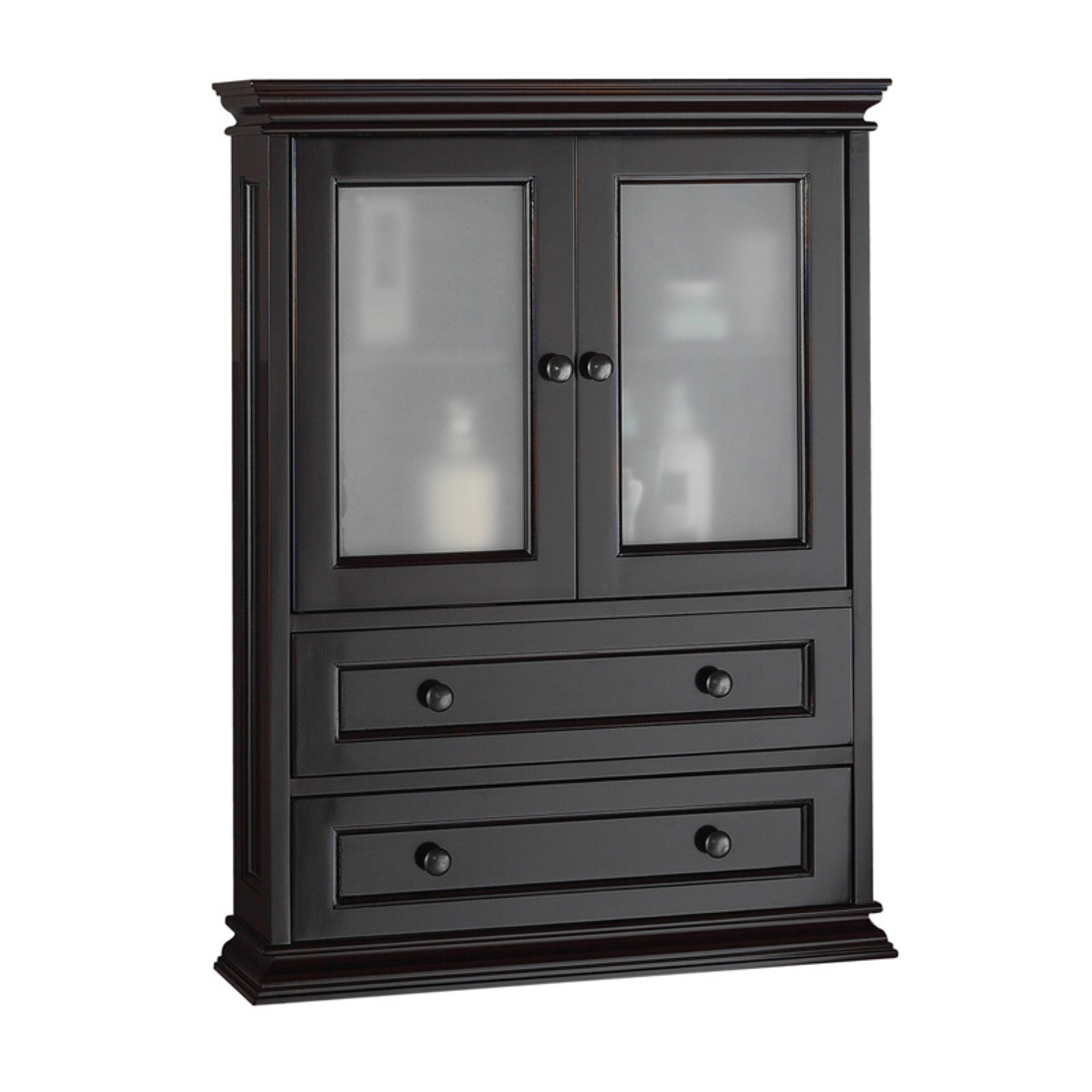 Foremost Berkshire Espresso Bathroom Wall Cabinet - Walmart.com