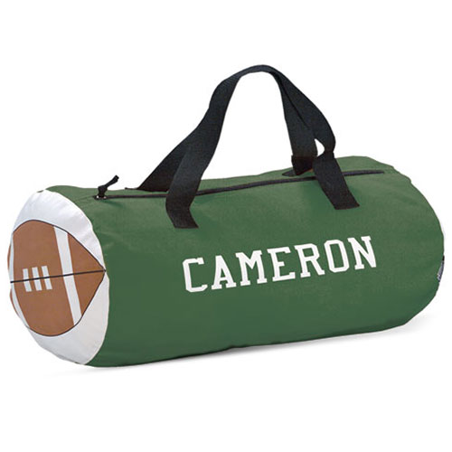 Personalized Sports Duffle Bag, Football