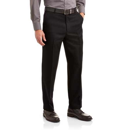 Big Men's Microfiber Performance Flat Front Dress
