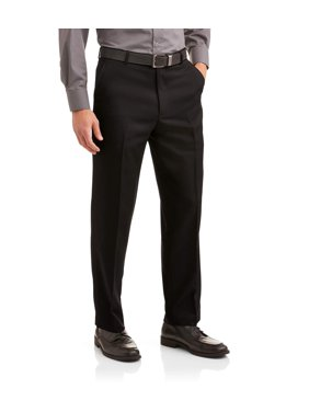 Product Image Big Men s Microfiber Performance Flat Front Dress Pant a0509cd2824c