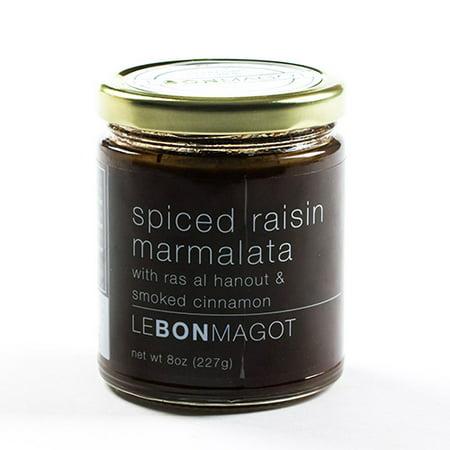 Le Bon Magot Chutney & Marmalata - 8 oz - Spiced raisin marmalata with ras al hanout (8 ounce)](Pumpkin Spice Halloween Cookies)