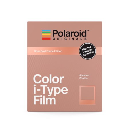 Polaroid Originals Color Film for i-Type Rose Gold Frame - Polaroid Frame Prop