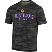 Men's Russell Athletic Black Clemson Tigers Synthetic T-Shirt