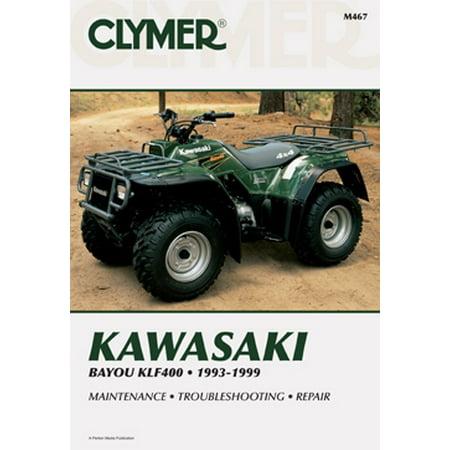 017207 CLYMER Kawasaki Bayou KLF400 93 99 Manual