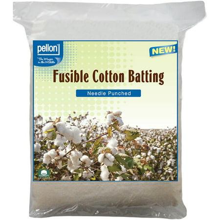 Pellon Needle Punched Fusible Cotton Batting, 45