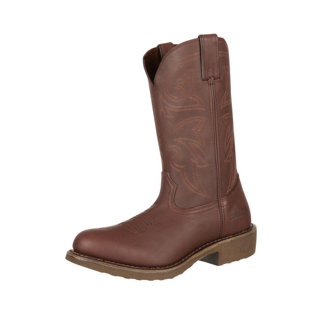 "Durango Work Boot Mens 12"" SPR Leather Comfort Core Mediu..."