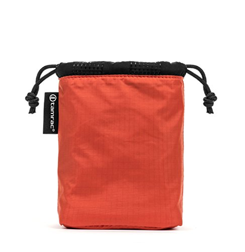 Pumpkin Easy-to-Access Protection Tamrac Goblin Body Pouch 1.0 |Lens Bag Drawstring Quilted