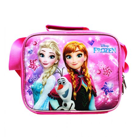 Frozen Pink Lunch Bag