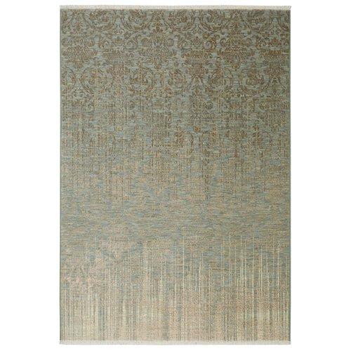 Karastan Titanium Tiberio Seaglass Gray/Blue Area Rug