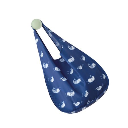 Homeholiday Folding Shopping Bags One-Shoulder Bag Oxford Cloth Waterproof Large Capacity Reticule Grocery Tote - image 2 of 4