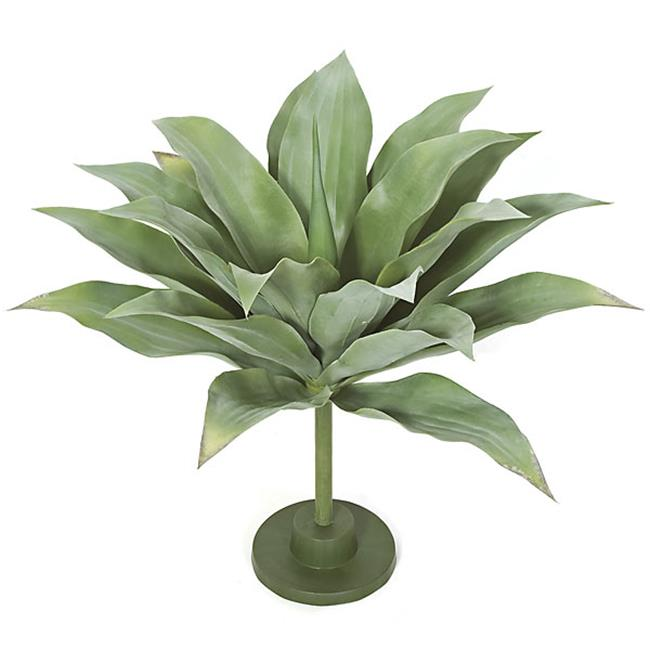 Autograph Foliages AR-102190 29 in. Agave Base Plant, Green