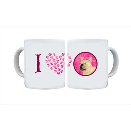 15 oz. French Bulldog Dishwasher Safe Microwavable Ceramic Coffee Mug
