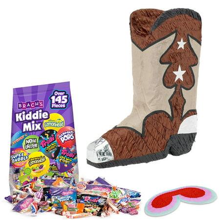 Cowboy Boot Pinata Kit