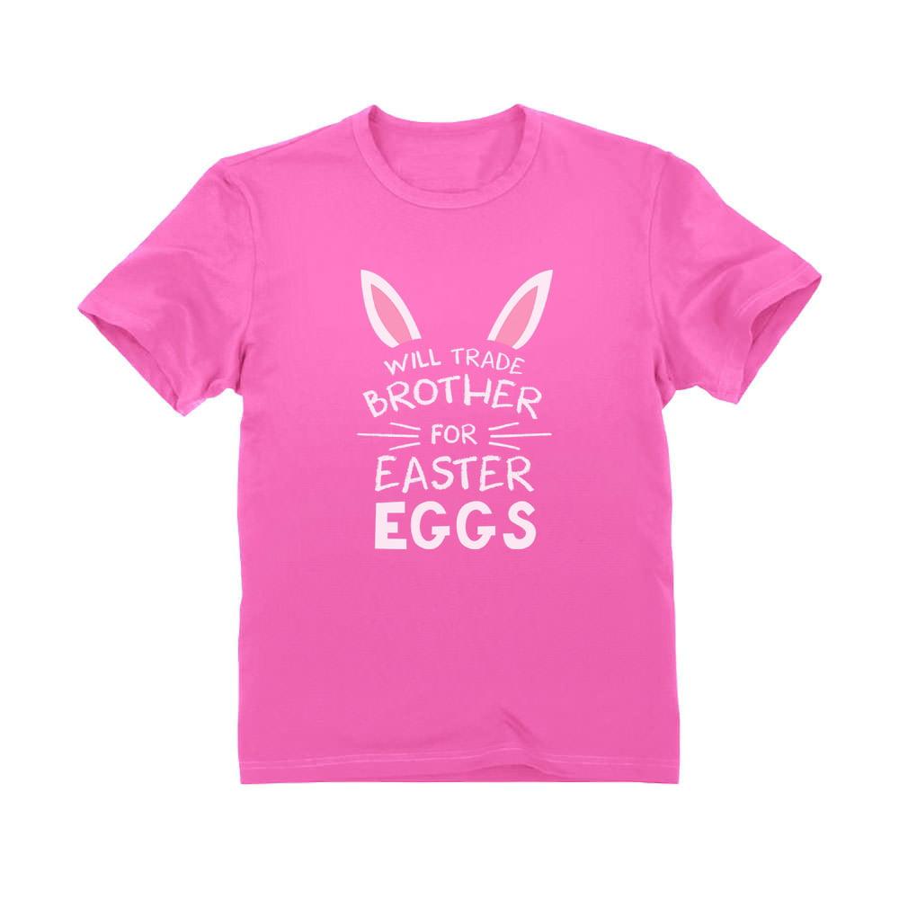 Easter Egg Hunt Shirt Easter Shirt kidstoddler shirt baby onesie Baby /& Toddler Shirt Will Trade Brother for Easter Eggs