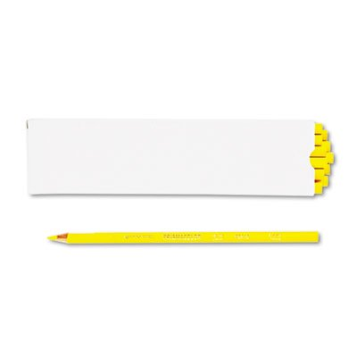 Premier Colored Pencil  Canary Yellow Lead Barrel  Dozen  Sold As 1 Dozen