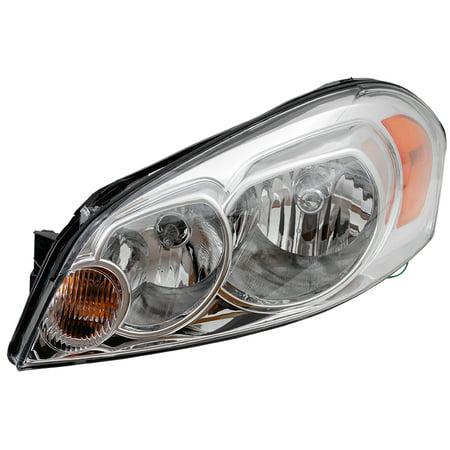 BROCK Headlight Headlamp Lens Driver Replacement for Chevrolet Impala Monte Carlo 25958359