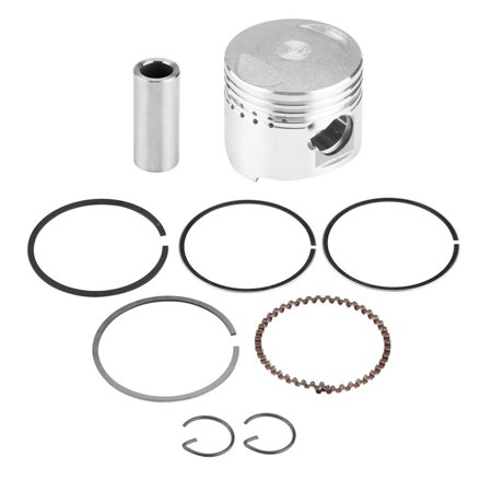 Tebru Motorcycle Piston, 39mm Piston Rings Kit Assembly for GY6 50CC Horizontal Engine Scooter Moped Motorcycle, (Used 50cc Mopeds For Sale Uk Cheap)