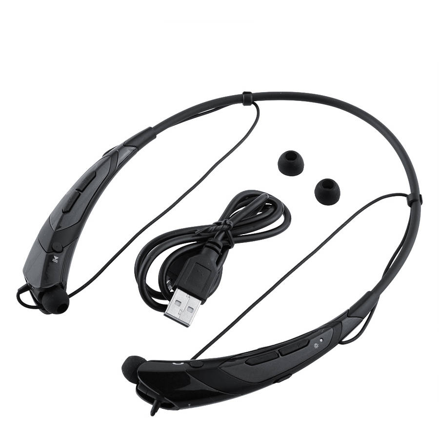 Bluetooth Wireless Headset, Black