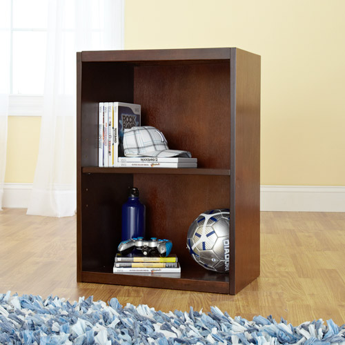 your zone 2-tier book shelf, double espresso
