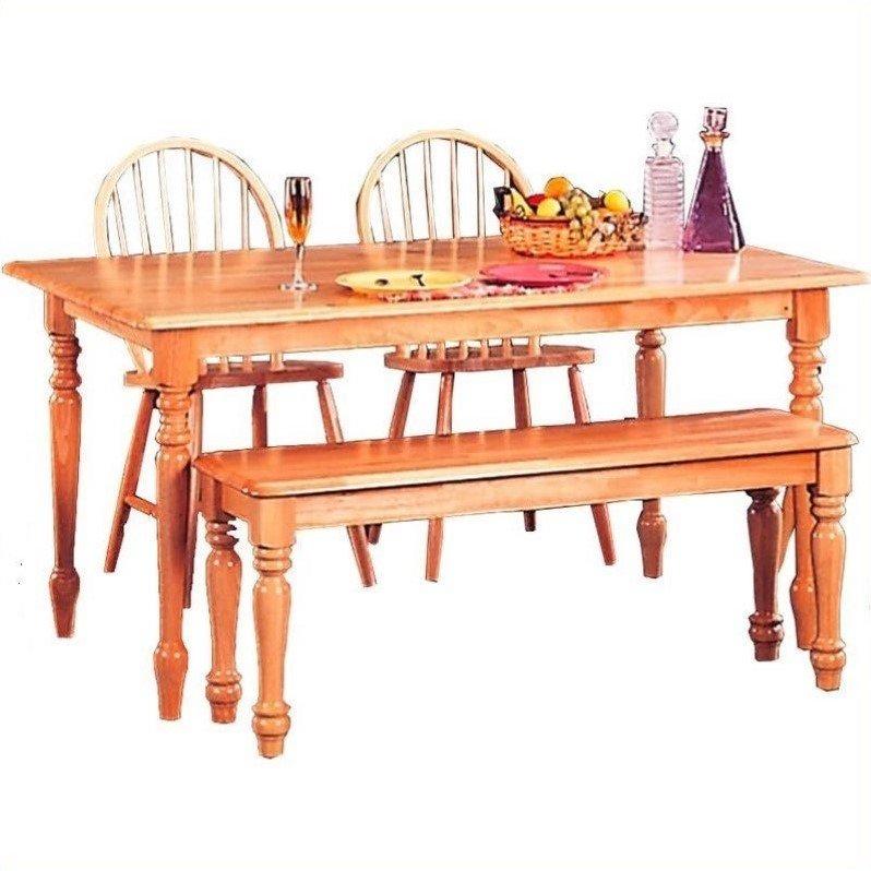 Coaster Company Benson Dining Table, Natural