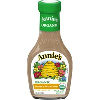 Annie's Organic Honey Mustard Dressing, 8 fl oz Bottle