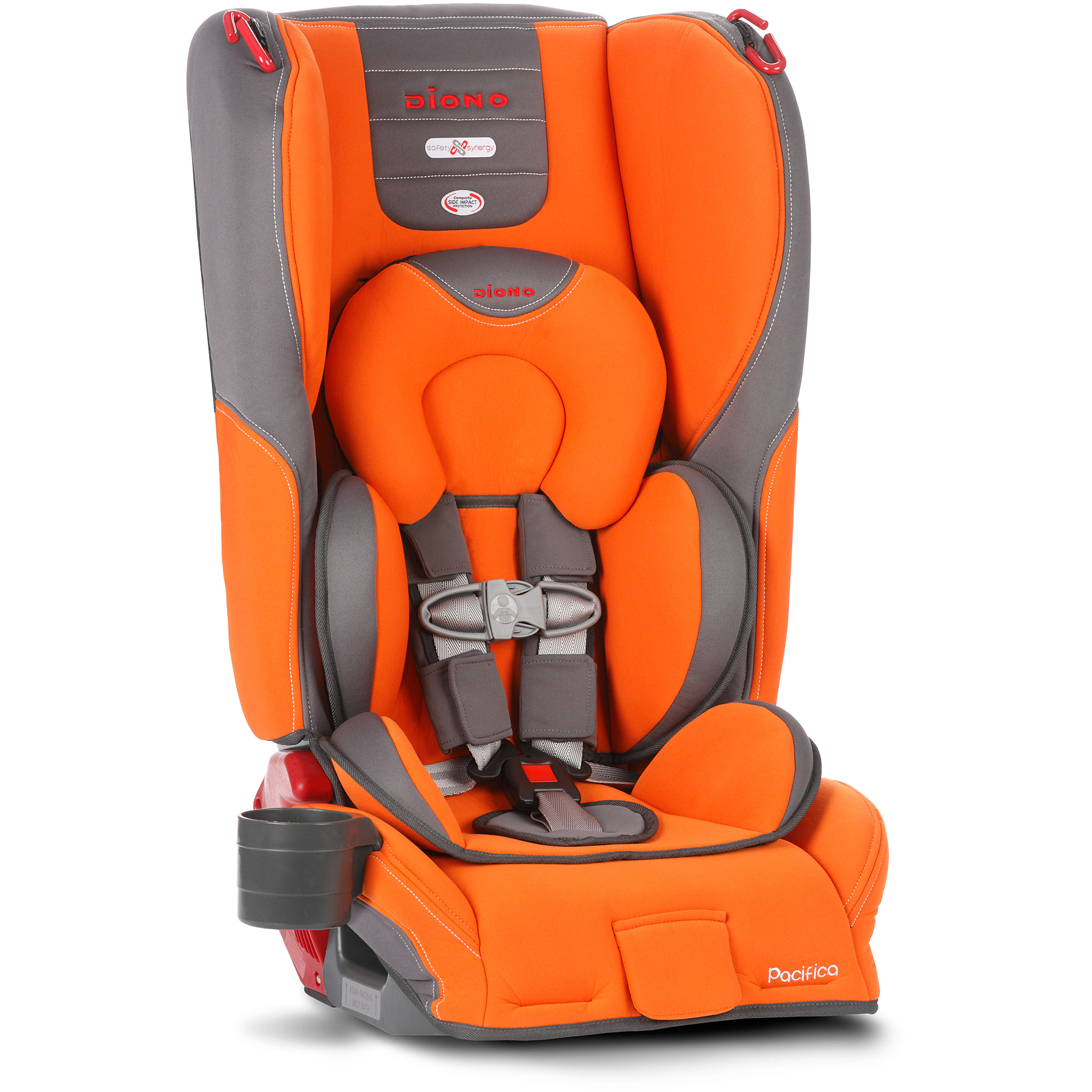 Diono Pacifica Convertible Car Seat plus Booster with Body Pillow