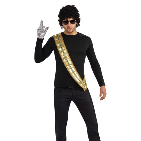 Michael Jackson Halloween Costume For Toddler (Michael Jackson Sash Rubies)