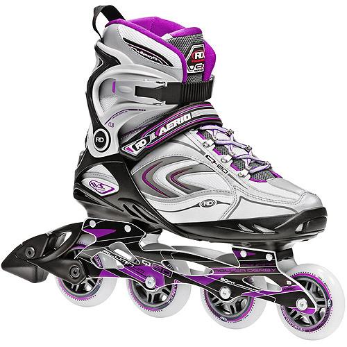 Roller Derby Skate Corp AERIO Q-80 Inline Women's Skates, Purple