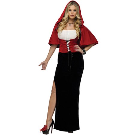 Salem On Halloween 2017 (Sassy Red Adult Halloween)