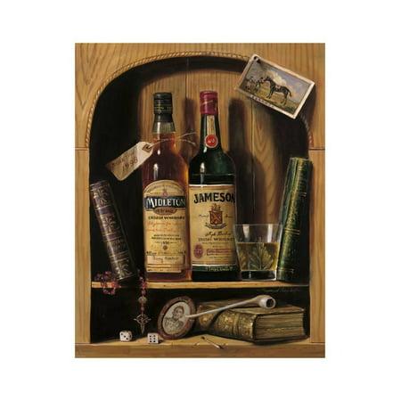 Jameson Irish Whiskey Print Wall Art By Raymond Campbell ()