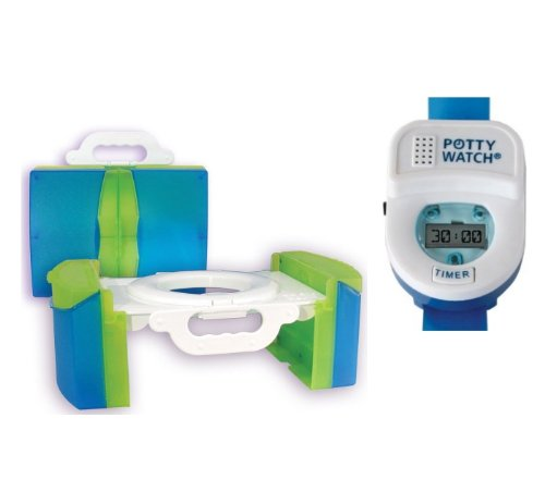 Cool Gear Travel Potty with Training Timer, Blue