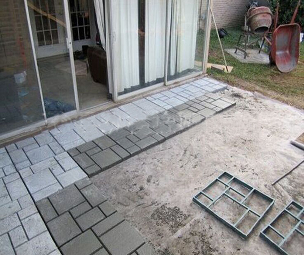 8 grid 50x50x45cm diy driveway paving pavement mold concrete 8 grid 50x50x45cm diy driveway paving pavement mold concrete stepping stone mould paver walmart solutioingenieria Image collections