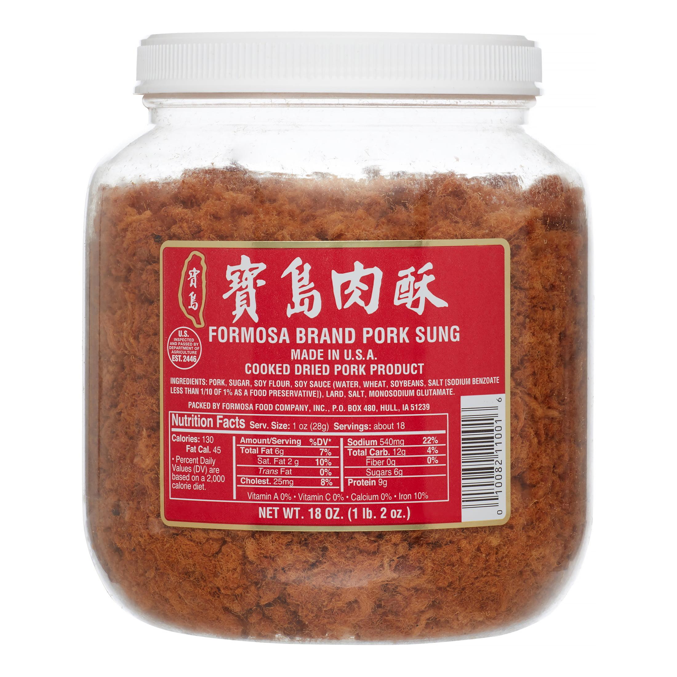Formosa Large Pork Sung, 18.0 Oz by Formosa