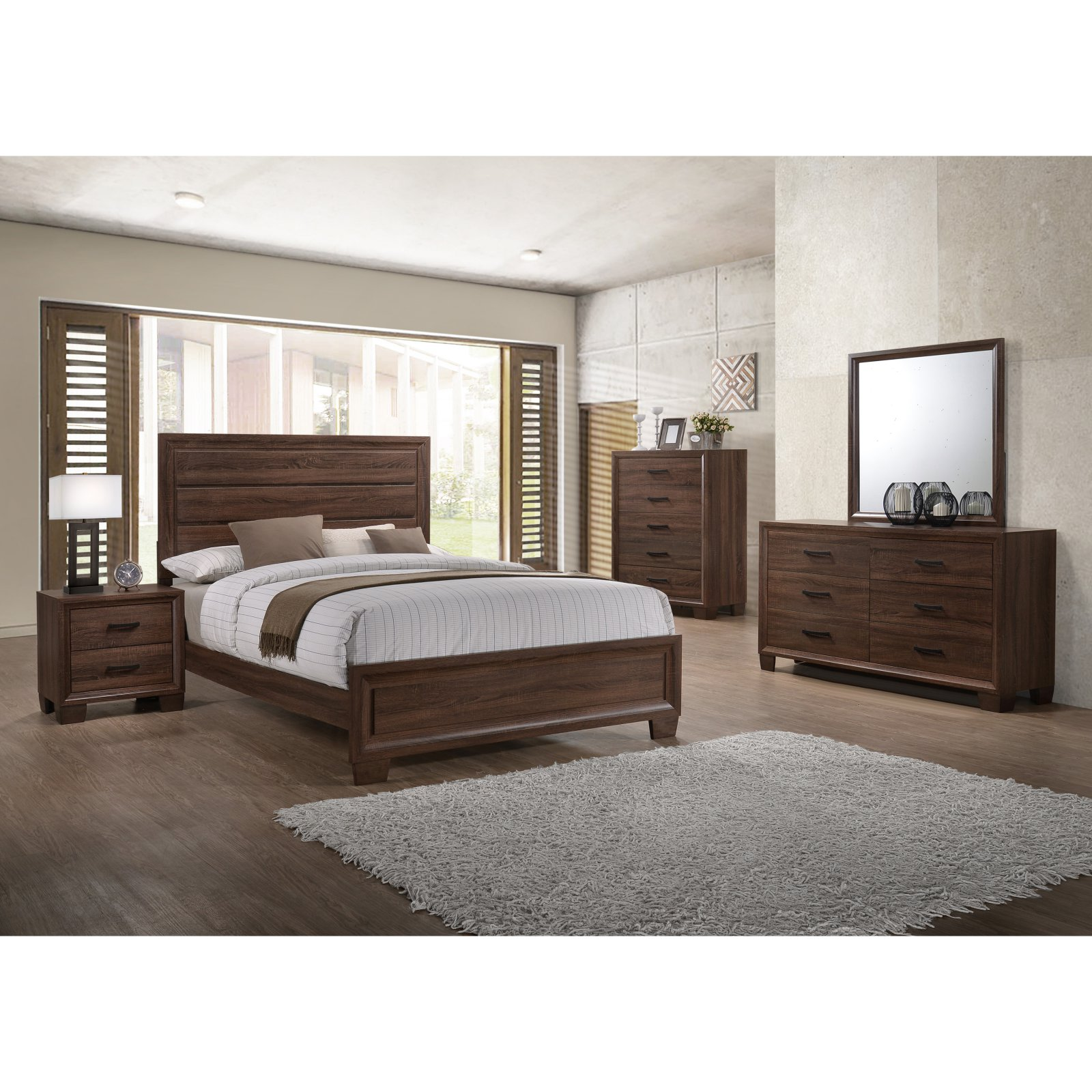 Coaster Furniture Brandon Panel Bed