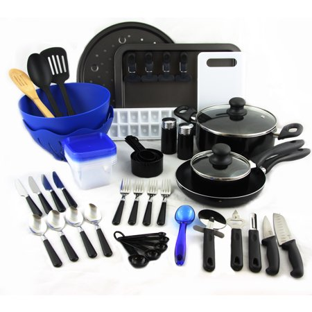 Gibson total kitchen 59 piece combo set for Kitchen set combo offer