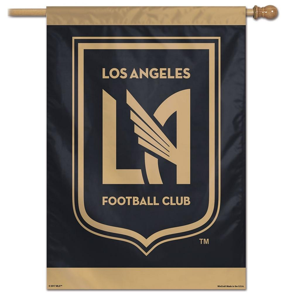 Los Angeles FC Vertical House Flag Outdoor Banner