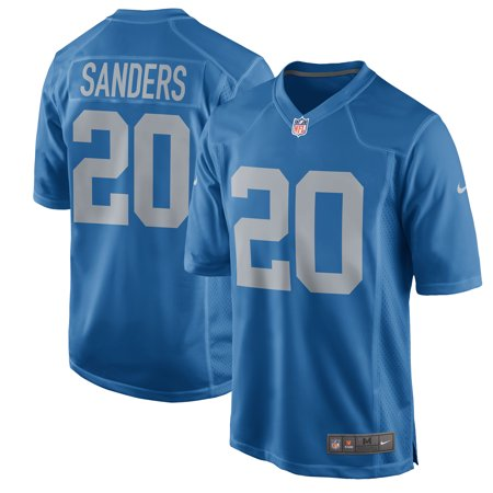 Barry Sanders Detroit Lions Nike 2017 Throwback Retired Player Game Jersey - Blue