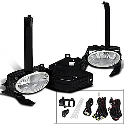 Spec-D Tuning LF-ACD082OEM-HZ Honda Accord 2Dr Coupe Chrome Clear Front Bumper Fog Lights