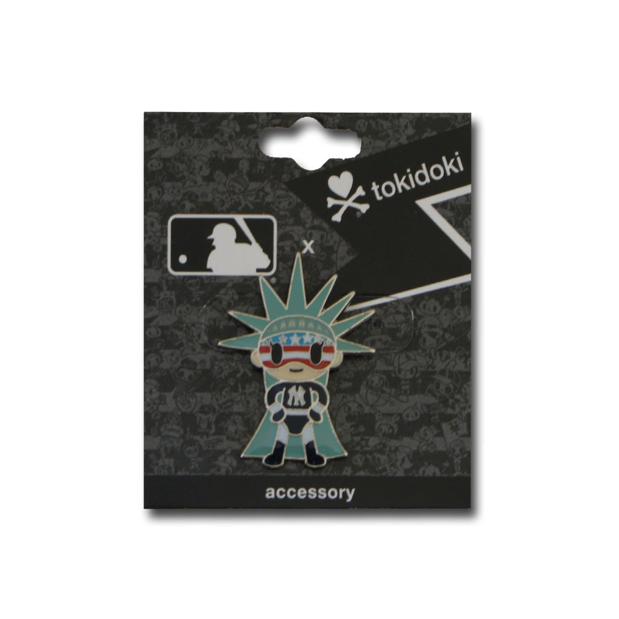Tokidoki Lapel Pin MLB New York Yankees