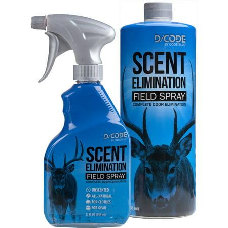 Code Blue Scrape Mate - CODE BLUE Field Spray 12 OZ + Refill Combo 32 OZ