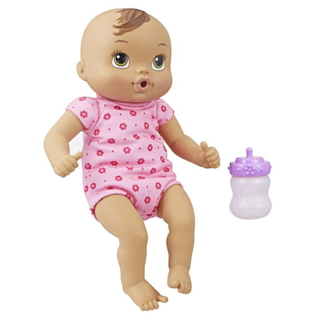 Baby alive luv n snuggle baby - brown hair - Alive 4 Fashion Halloween
