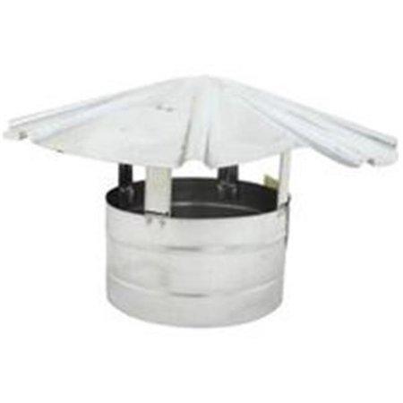 Billy Penn 8105 Roof Cap 8 in Steel Galvanized
