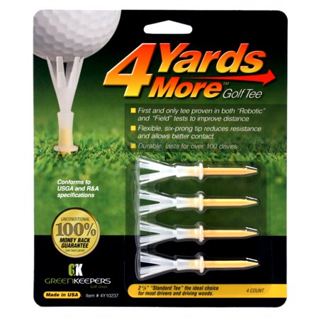 4 Yards More Golf Tees 2 3/4