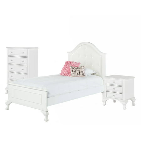 Picket House Furnishings Jenna Twin Panel 3PC Bedroom